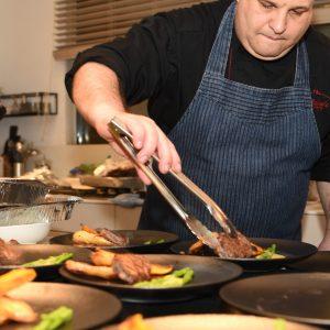 השף שמעון בר - השף הפרטי בעבודה